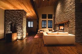 Chandelier Room Las Vegas Las Vegas Interior Stone Walls Living Room Contemporary With Log