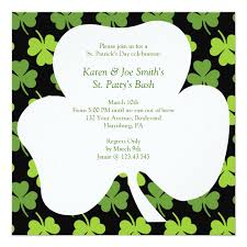 most popular st patrick u0027s day party invitations