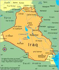 map of irak 101 reasons not to go to war with iraq san diego veterans for peace