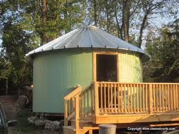 solid wall wooden yurt cabin kits clean air woodworks