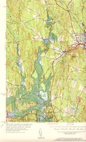 New England On The Map by Winchendon Ma Nh Quadrangle