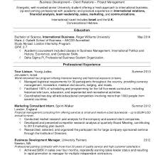 cool design resume example for college student 8 good resume