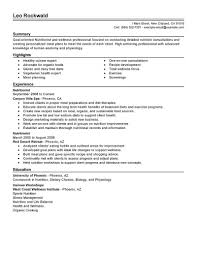 nutritionist resume sle 28 images dietitian cv health