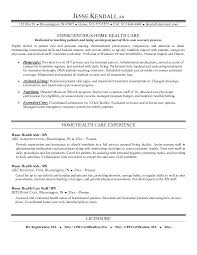 sample resume for caregiver for an elderly example home health