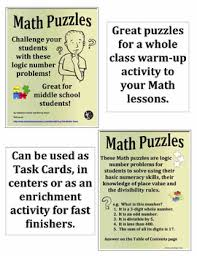 puzzles u2013 problems using divisibility rules and numeracy skills