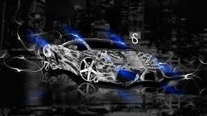 Lamborghini Gallardo Blue - lamborghini gallardo fantasy leopard smoke car 2013 el tony
