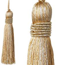 Tassel Curtain Jones Curtain Key Tassel Metallic Gold Just Poles