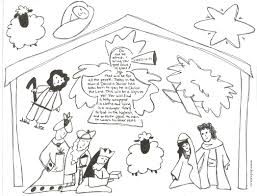 printable coloring pages nativity scenes best photos of printable nativity scene patterns free printable