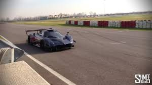 pagani zonda revolucion exclusive track footage and revs youtube