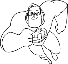 the incredibles family coloring pages virtren com