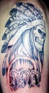 american designs tattoo galleries native american chief design