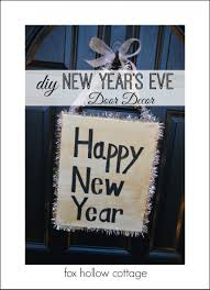 New Year Decorations 2015 by New Year U0027s Eve Diy Decorating Ideas Fox Hollow Cottage