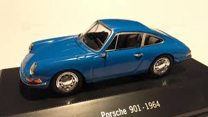 diecast porsche 911 901 modelcar atlas 1 43 in blue owned by
