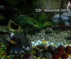 concrete aquarium decor 4 steps