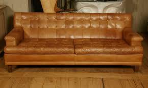 Cognac Leather Sofa by Sofas Center Vintage Chesterfield Cognac Leather Sofa Jean Marc