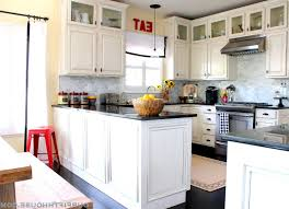 Obama Kitchen Cabinet - dark wood flooring white kitchen enchanting home design