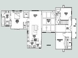 u shaped one story house plan with courtyard lrg aaa tikspor