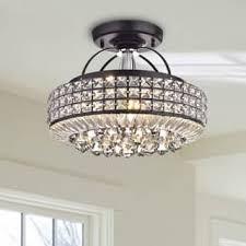 semi flush mount foyer light antique glass drum foyer light trgn 2caf2abf2521