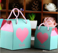 2015 small gift bags wedding favor holders creative gift box