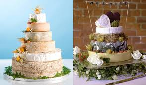 wedding cake made of cheese cheese you re going to adore the wedding cake trend