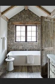 Barn Bathroom Ideas by Best 25 Stone Bathroom Ideas On Pinterest Spa Tub Master