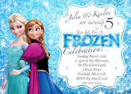 disney frozen birthday invitations vertabox com