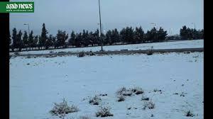 snow in saudi arabia youtube