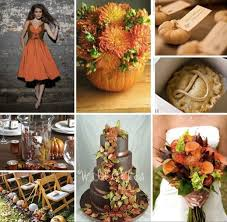 fall theme wedding colours weddingbee