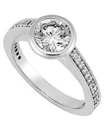 beveled engagement ring diamond engagement rings unique engagement rings