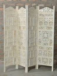 sheesham wood wooden screen partition kashmiri 72x80 4 carved wooden screen as headboard folding screens and room