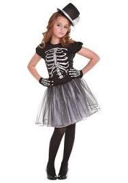 Girls Scary Halloween Costume Black Tie Skeletons Bow Tie Bones Dapper Scary Men U0027s