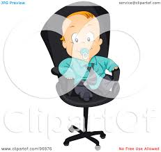Office Chair Clipart Royalty Free Rf Chair Clipart Illustrations Vector Graphics 1