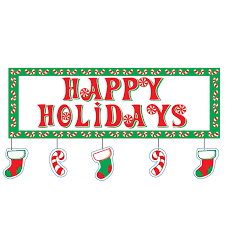 christmas holiday banners clip art 36