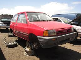 majda car junkyard find 1990 ford festiva the truth about cars