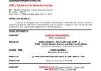 Inspector Resume Sample Qa Qc Inspector Resume Sample Free Resume Examples