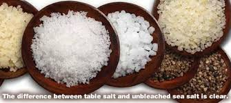 what s the difference between table salt and sea salt difference between table salt and unbleached sea salt morenature com
