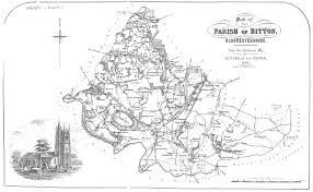 Bristol England Map by A Map Of The Parish Of Bitton 1842 Bristol Radical History Group
