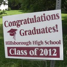graduation signs personalized graduation gifts favors inkhead
