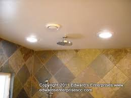 Recessed Lighting For Bathrooms by Recessed Light Can Repairs Replacements Installs