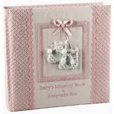 baby girl memory book baby s girl memory book and keepsake box marianne mckinley