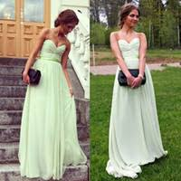 cheap mint green dress for maid honor free shipping mint green