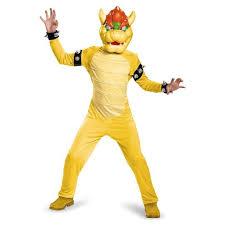 kids costume mario bros bowser deluxe kids costume target