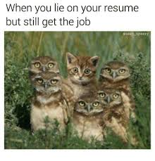 25 best memes about when you lie on your resume when you lie what to do when you ve lied on your resume
