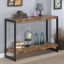 wood and metal console table rustic metal console table sitez co