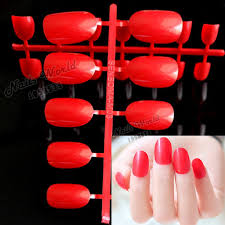 online get cheap acrylic nails red aliexpress com alibaba group