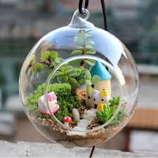 aliexpress com buy new ball globe shape clear hanging glass vase