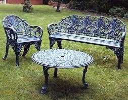 cast aluminium outdoor benches u0026 garden furniture london uk