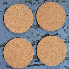 cork coasters 3 blank cork coasters 1 8 thick made in usa blankcork