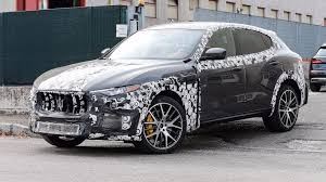 maserati levante blacked out maserati levante gts spied again with more performance cues
