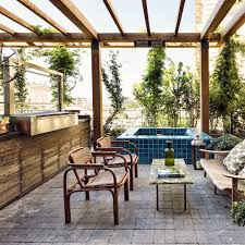 Soho House Furniture Outdoor Jacuzzi And Bbq The Apartment At Soho House Istanbul